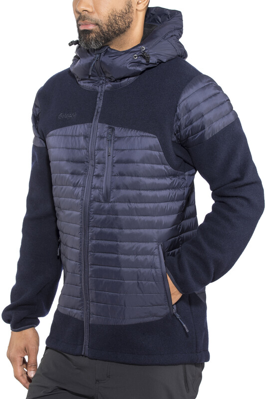 Bergans Osen Down/Wool Jacket Men Dark Navy XL 2018 Fleecejacken, Gr. XL