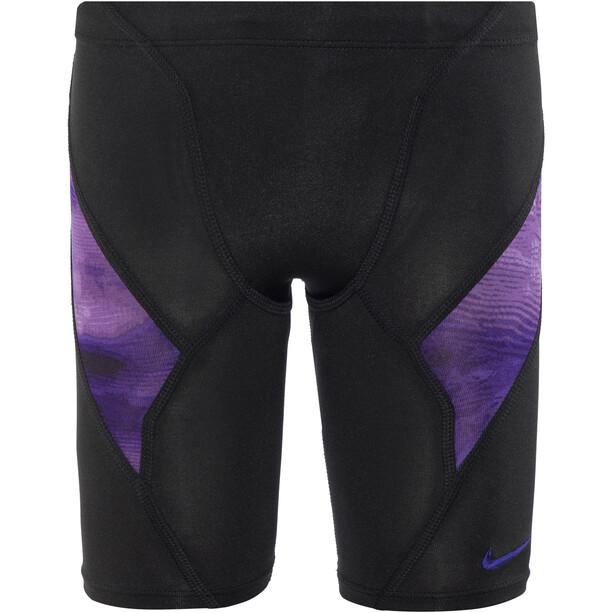Nike Swim Cumulus Jammer Jungen court purple