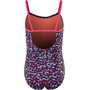 Nike Swim Glow V-Back Tank Badeanzug Mädchen racer pink