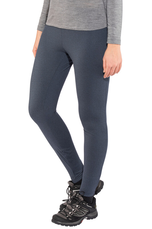 Bergans W's Stranda Tights Dark Navy Mel/Dark Fogblue S 2018 Superundertøy bukser lang