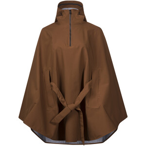 Bergans Oslo 3L Poncho Dam dark copper dark copper