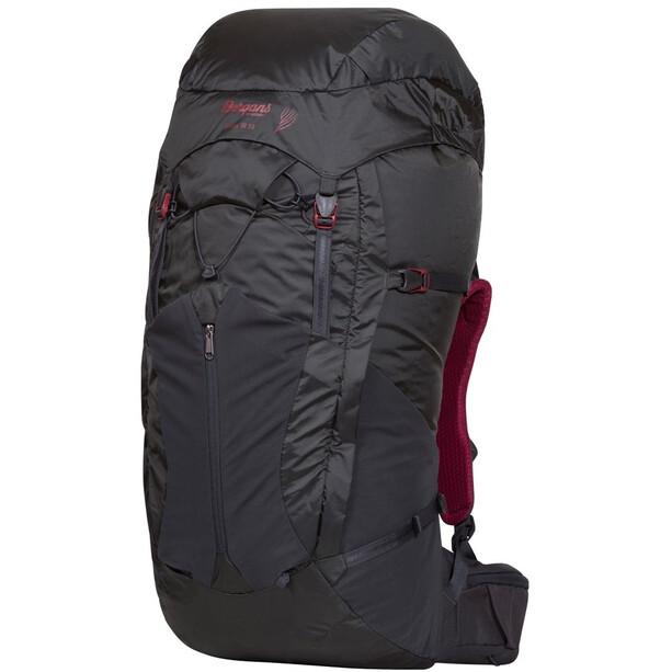Bergans Senja 55 Backpack Dam solid charcoal/burgundy