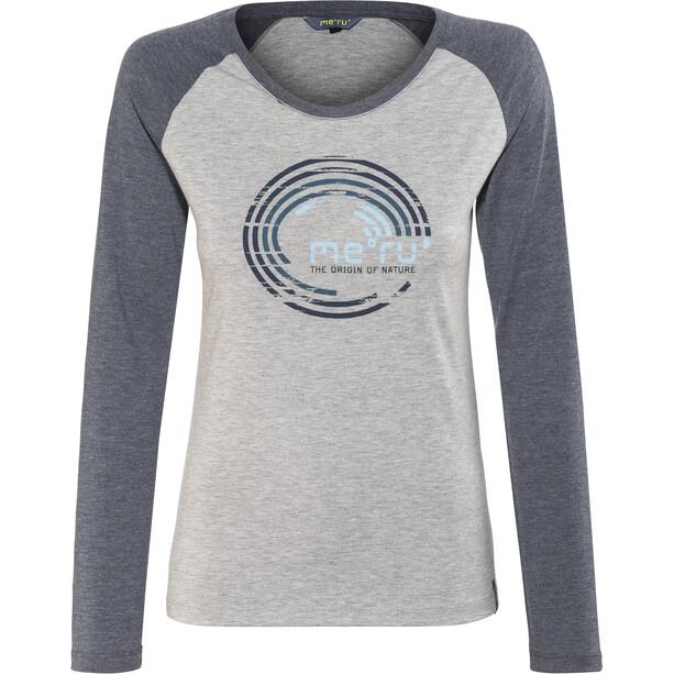Meru Katrineholm LS Shirt Dam blue wing teal