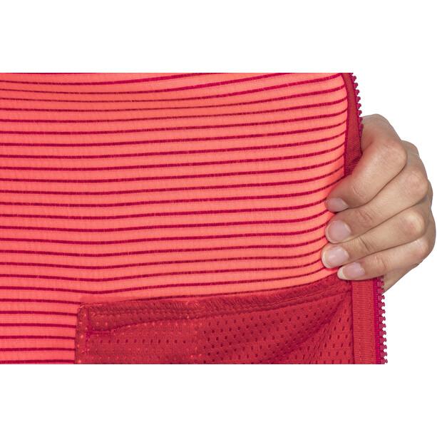 Meru Kalamata Jacket Dam raspberry striped