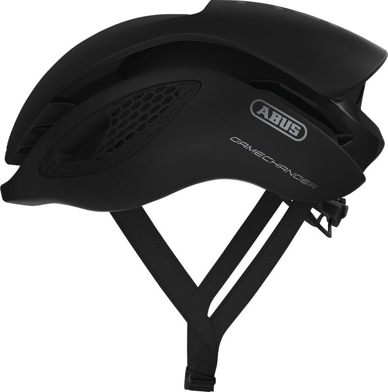 ABUS GameChanger Aero Helmet velvet black 52-58cm 2018 Fahrradhelme
