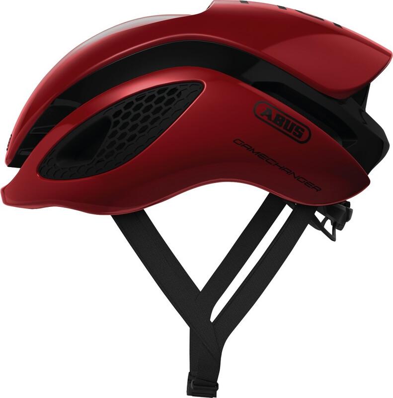 ABUS GameChanger Aero Helmet blaze red 52-58cm 2018 Fahrradhelme