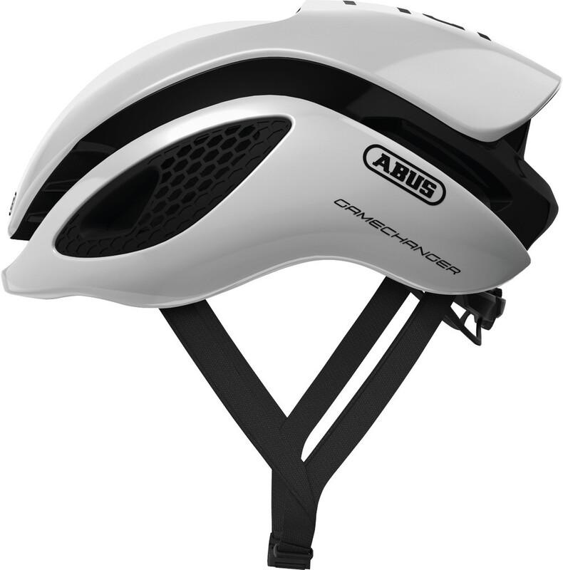 ABUS GameChanger Aero Helmet polar white 52-58cm 2018 Fahrradhelme