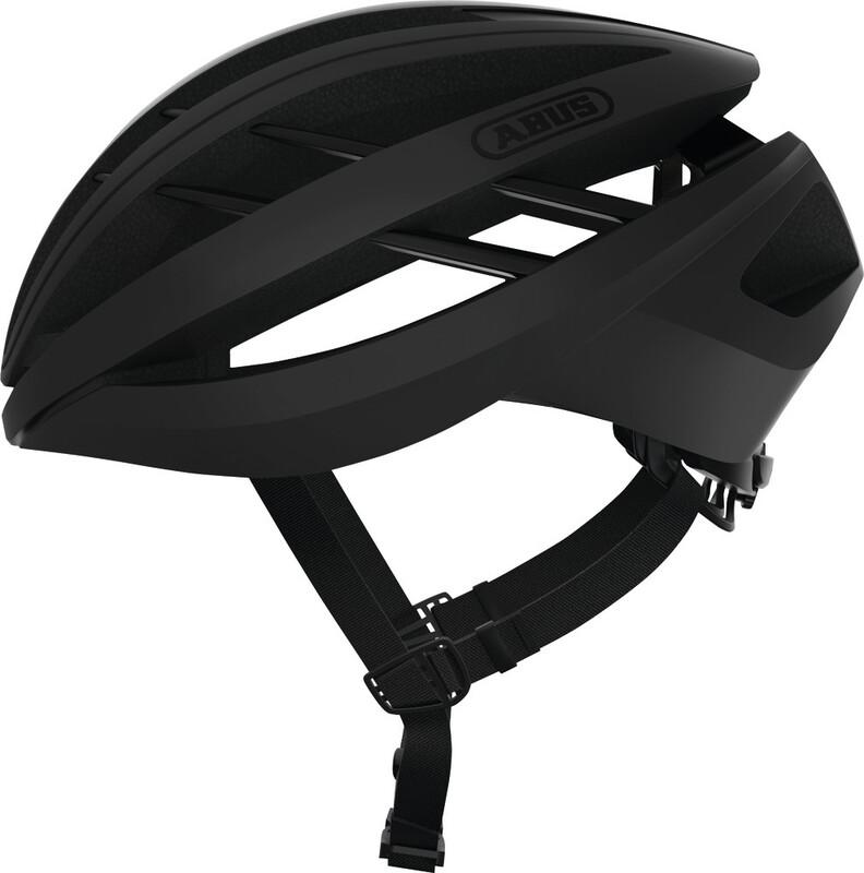 ABUS Aventor Road Helmet velvet black 51-55cm 2018 Fahrradhelme