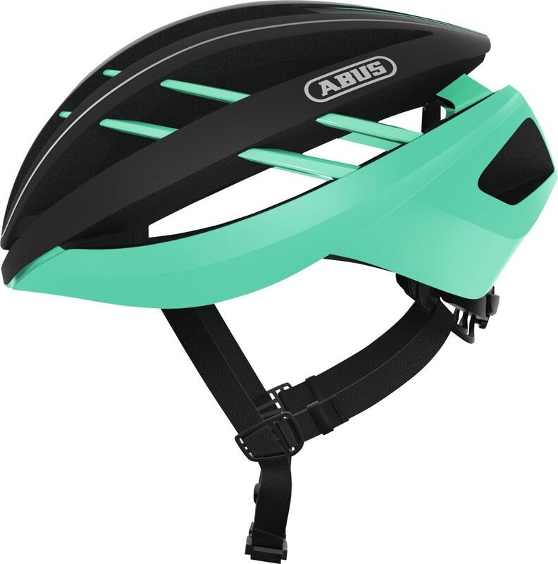 ABUS Aventor Road Helmet celeste green 54-58cm 2018 Fahrradhelme