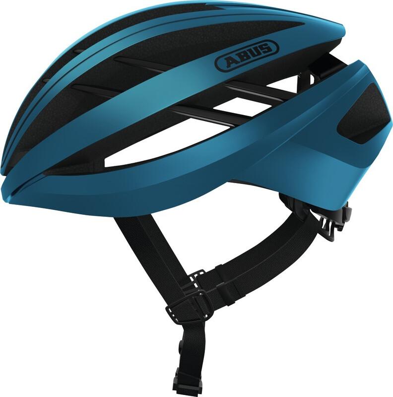ABUS Aventor Road Helmet steel blue 51-55cm 2018 Fahrradhelme
