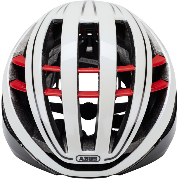 ABUS Aventor Road Helm blaze red