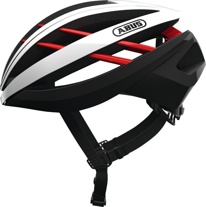 ABUS Aventor Road Helmet blaze red 58-62cm 2018 Fahrradhelme