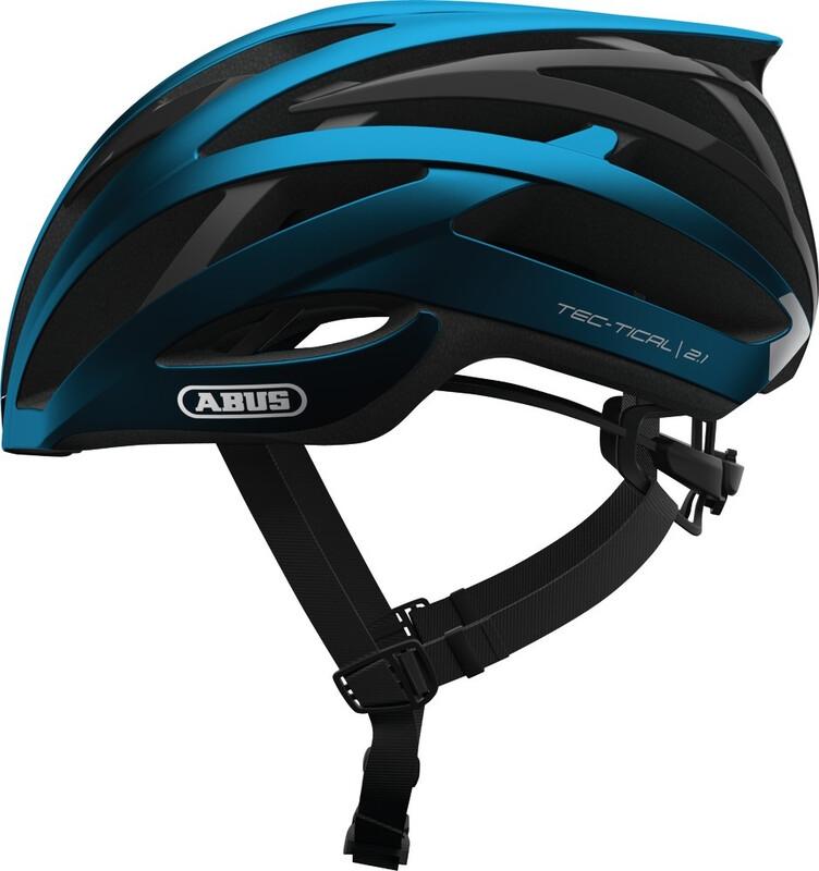 ABUS Tec-Tical 2.1 Road Helmet steel blue 51-55cm 2018 Fahrradhelme