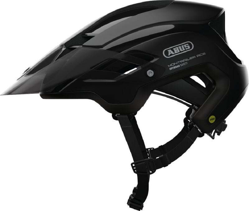 ABUS Montrailer ACE MIPS MTB-Helmet velvet black 55-58cm 2018 Fahrradhelme