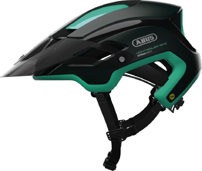 ABUS Montrailer ACE MIPS MTB-Helmet smaragd green 55-58cm 2018 Fahrradhelme