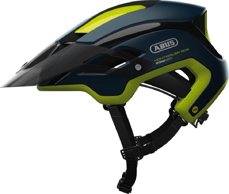 ABUS Montrailer ACE MIPS MTB-Helmet midnight blue 55-58cm 2018 Fahrradhelme