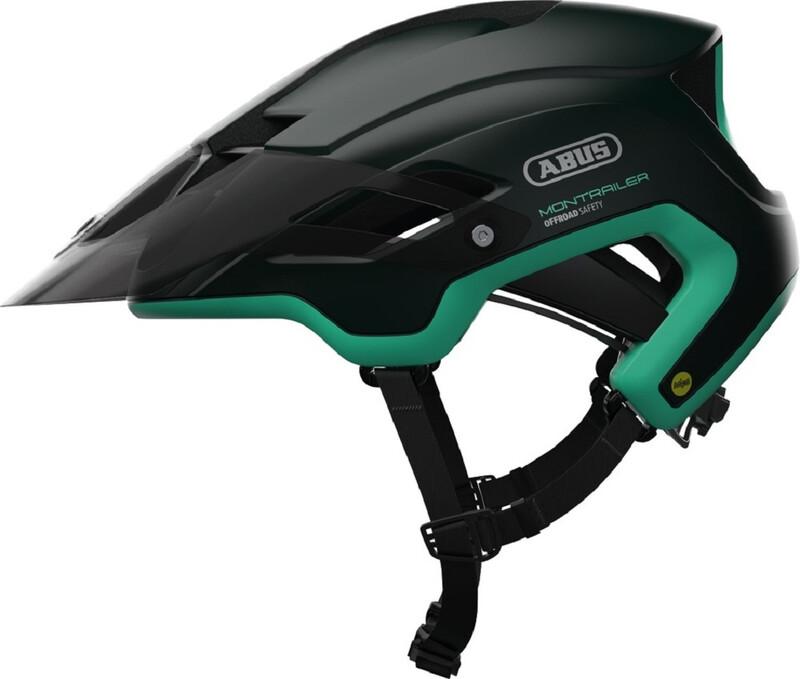 ABUS Montrailer MIPS MTB-Helmet smaragd green 57-61cm 2018 Fahrradhelme