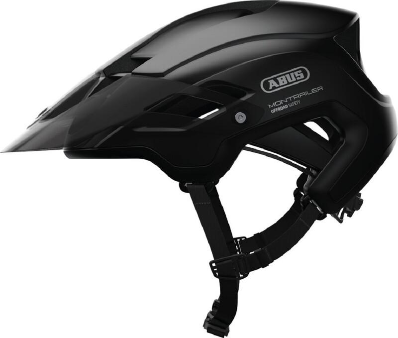 ABUS Montrailer MTB-Helmet velvet black 57-61cm 2018 Fahrradhelme