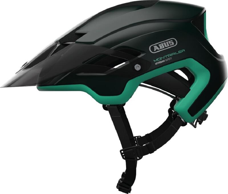 ABUS Montrailer MTB-Helmet smaragd green 57-61cm 2018 Fahrradhelme
