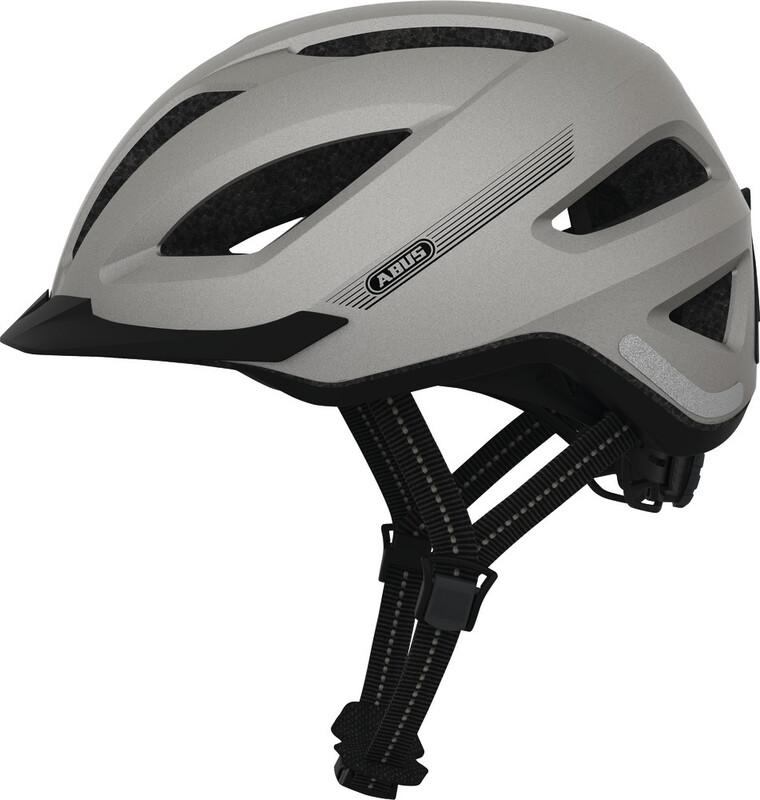 ABUS Pedelec+ Helmet silver edition 52-57cm 2018 Fahrradhelme