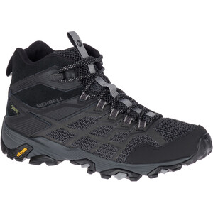 Merrell Moab FST 2 Mid GTX Schuhe Damen all black all black