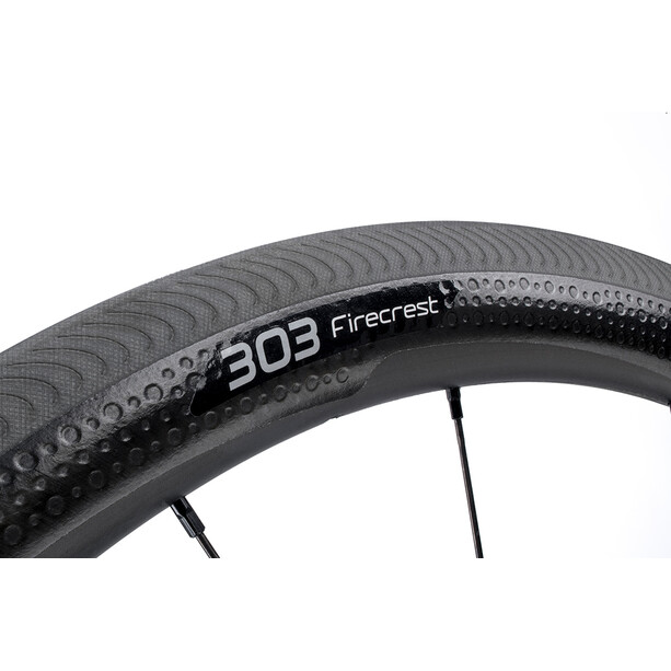 Zipp 303 Firecrest Front Wheel Carbon Clincher black