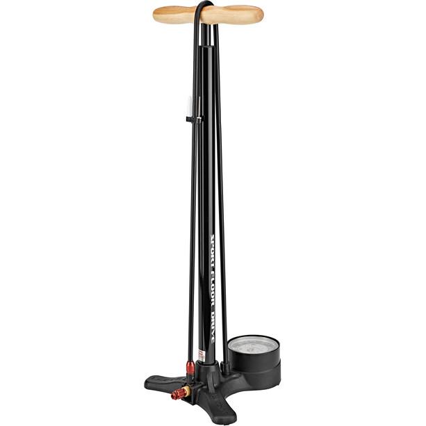 Lezyne Sport Floor Drive Tall Standpumpe schwarz tall