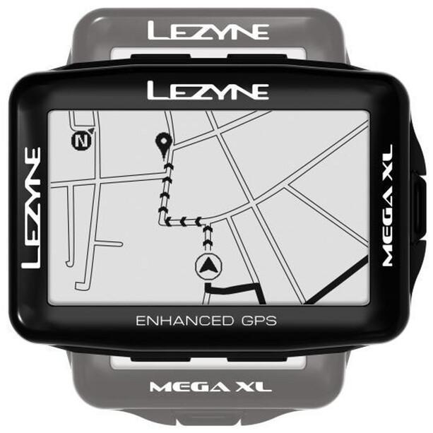 Lezyne Mega XL GPS Computer schwarz