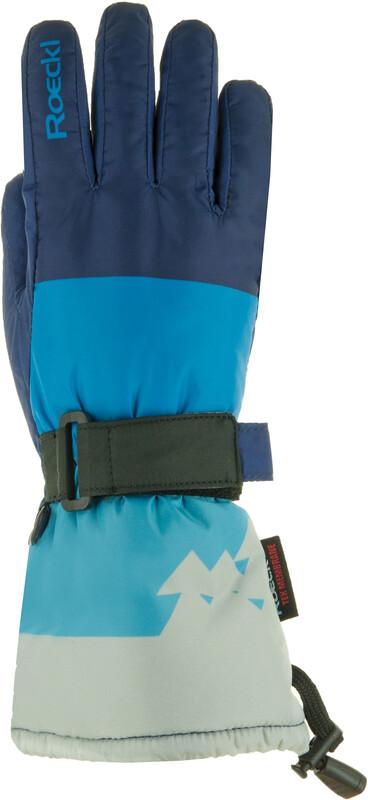Roeckl Arlberg Ski Gloves Kids indigo 3 2018 Wintersport Handschuhe, Gr. 3