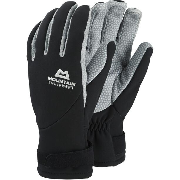 Mountain Equipment Super Alpin Handschuhe Herren black/titanium