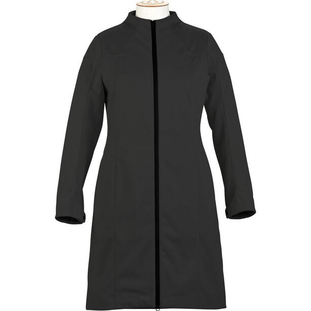 Alchemy Equipment Longline Softshell Mantel Damen black