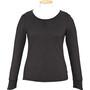 Alchemy Equipment Merino Essential Langarm T-Shirt Damen schwarz