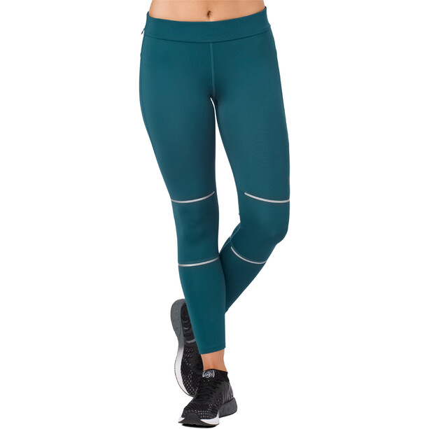 asics Lite-Show 7/8 Tights Damen blue steel
