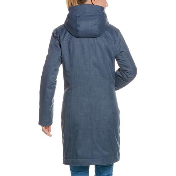 Tatonka Floy Mantel Damen matt blue