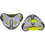 speedo Biofuse Fingerpaddel grau/gelb