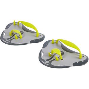 speedo Biofuse Fingerpaddel grau/gelb grau/gelb