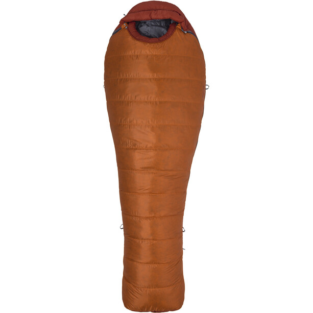 Marmot Never Summer Sleeping Bag Regular tangelo/auburn