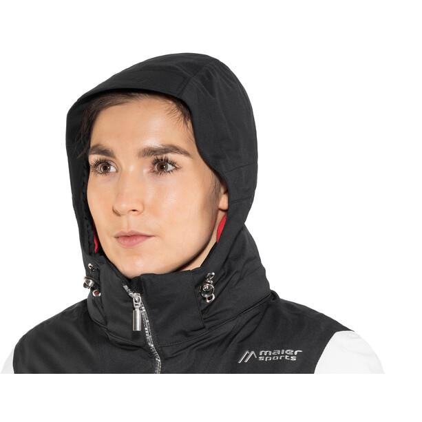 Maier Sports Valisera mTex Skijacke Damen schwarz/weiß