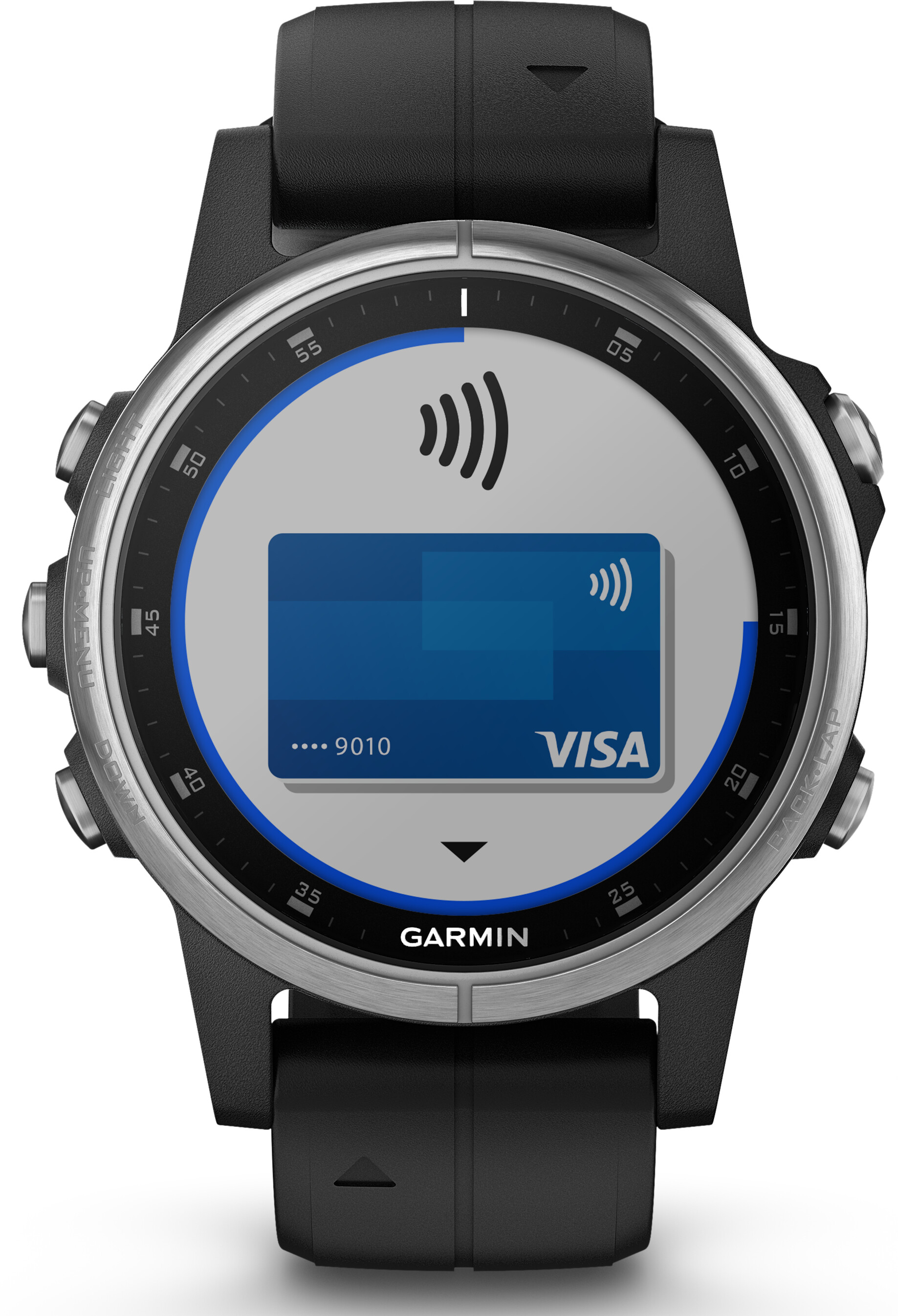 garmin fenix 5s plus noir argent boutique de v los en. Black Bedroom Furniture Sets. Home Design Ideas