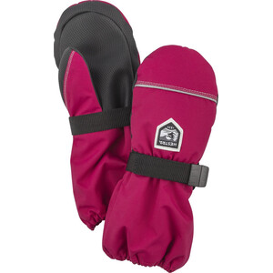 Hestra Wool Terry Mittens Barn pink pink
