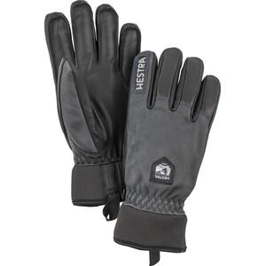 Hestra Army Leather Wool Terry Handschuhe grey/black grey/black