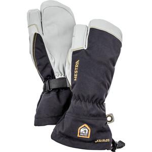 Hestra Army Leather GORE-TEX Guantes, negro/blanco negro/blanco