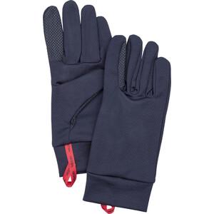 Hestra Touch Point Dry Wool Unterziehhandschuhe blau blau