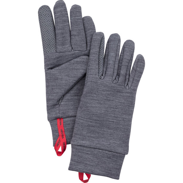 Hestra Touch Point Warmth Unterziehhandschuhe grey