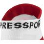 Compressport Racing V2.1 Run Low-Cut Socken white/red