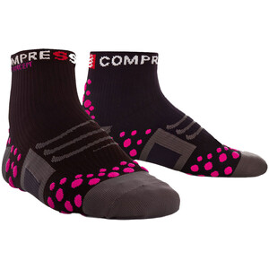 Compressport ProRacing Run High-Cut Socken black/pink black/pink
