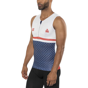 Compressport TR3 Tank Top Irnmn 2017 Men, blue blue
