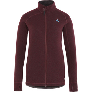 Klättermusen Balder Zip Jacket Dam sorrel red sorrel red
