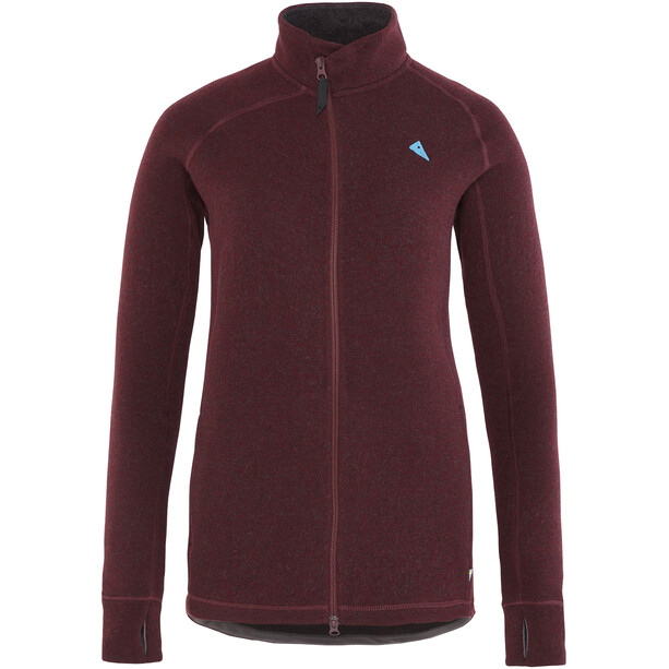 Klättermusen Balder Zip Jacket Dam sorrel red