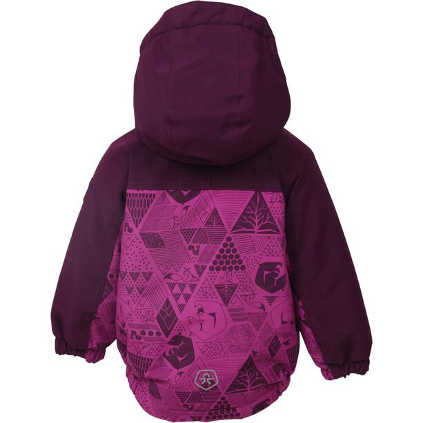 Color Kids Dion Mini Wattierte Jacke Kinder pink